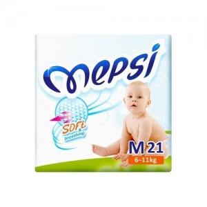 """Mepsi"" подгузники M (6-11 кг.) 21 шт."