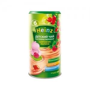 """""""Heinz"""" Чай быстрорастворимый порционный Шиповник Малина с 6 месяцев 200 г."""