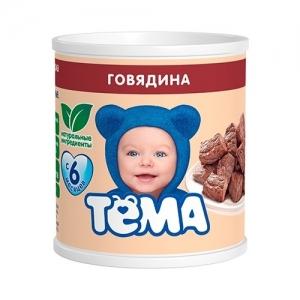 """""""ТЁМА"""" пюре Говядина с 6 месяцев 100 г."""