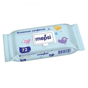"""""""Mepsi"""" Влажные салфетки 72 шт."""