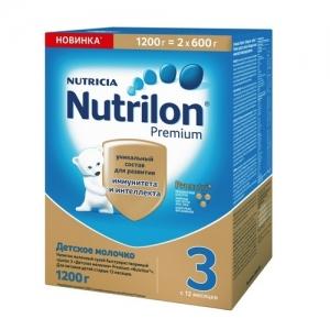 """Nutrilon 3"" сухой Молочный напиток с 12 месяцев 1200 г."