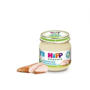 """""""HiPP"""" пюре Цыпленок с 6 месяцев 80 г"""
