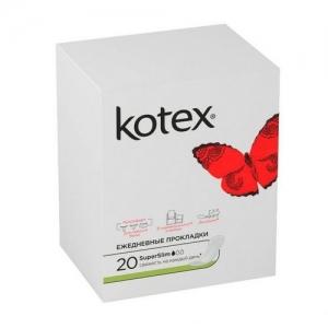 Прокладки Kotex ежедневные SuperSlim 20 шт.