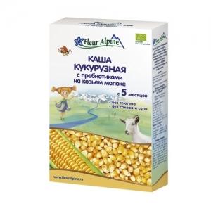 """Fleur Alpine"" каша ORGANIC 200 г. на Козьем молоке Кукурузная с 5 месяцев"