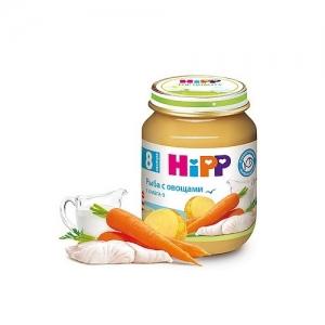 """HiPP"" пюре Рыба с Овощами с 8 месяцев 125 г"