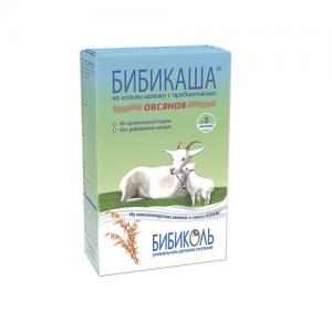"""""""БИБИКАША"""" Каша 200 г. на Козьем молоке Овсяная с 5 месяцев"""