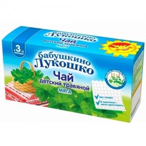 """""""Бабушкино лукошко"""" чай травяной Мята с 3 месяцев (20*1г.)"""