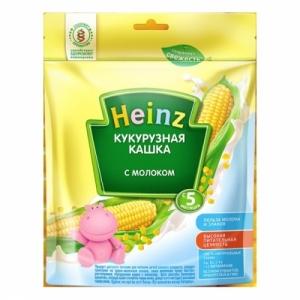 """Heinz"" Каша с Молоком Кукурузная с 5 месяцев 250 г."