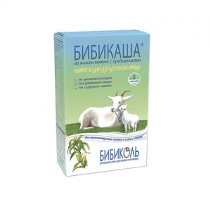 """БИБИКАША"" Каша  на Козьем молоке Кукурузная с 4 месяцев 200 г."
