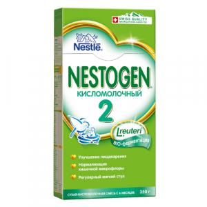 Смесь кисломолочная Nestogen 2 350г с 6месяцев
