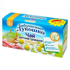 """Бабушкино лукошко"" чай травяной Ромашка с 1 месяца (20*1г.)"