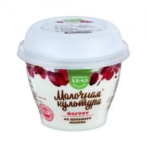 "Йогурт ""Молочная культура"" 0,22 л. 3,5-4,5%"