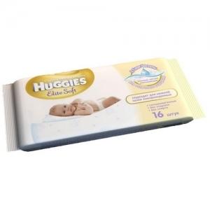 HUGGIES Elit Soft Салфетки детские влажные   16 шт.