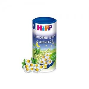 """""""HiPP"""" чай Липовый цвет с Мелиссой с 4 месяцев 200 г"""