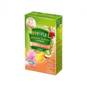 """""""Heinz""""  Пудинг бананчик, яблочко в сливках с 6 месяцев 200 г."""
