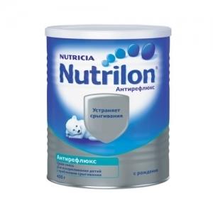 """""""Nutrilon Антирефлюкс"""" сухая молочная смесь для детей с регулярными срыгиваниями с рождения 400 г."""