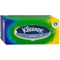 """Kleenex Салфетки  в картонном боксе """"Balsam"""" 80 шт."""