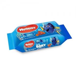 Салфетки детские влажные  HUGGIES Disney Finding DORI Special Edition 56 шт.