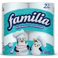 Бумажные Полотенца Familia двухслойные, 2 шт