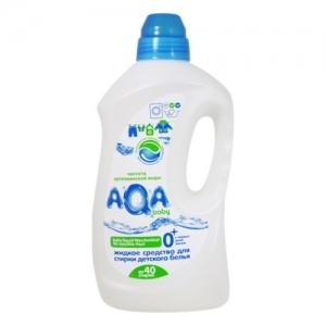 """Жидкое средство для стирки детского белья """"AQA"""" baby 1,5 л"""