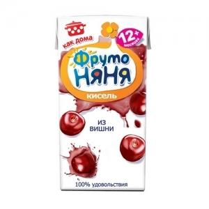 """""""ФрутоНяНя"""" Кисель 200 мл. из Вишни с 1 года"""