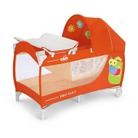"""""""CAM"""" Daily Plus Art.L113 манеж-кровать оранжевый 199"""