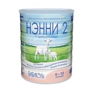 """""""НЭННИ 2"""" 800 г. смесь молочная сухая с 6 месяцев"""