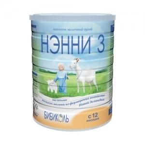 """НЭННИ 3"" 800 г. напиток молочный сухой с 12 месяцев"