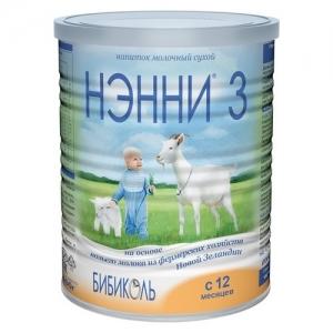"""""""НЭННИ 3"""" 400 г. сухой молочный напиток с 1 года"""