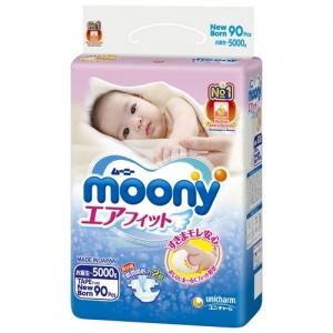 подгузники MOONY Newborn  (до 5 кг) 90 шт.