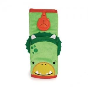 TRUNKI Накладка-чехол для ремня безопасности в авто Зелёная 0105-GB01