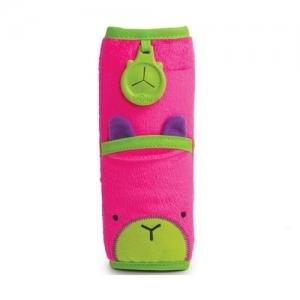 TRUNKI Накладка-чехол для ремня безопасности в авто Розовая 0096-GB01