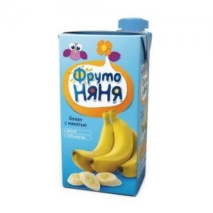 """""""ФрутоНяНя"""" 500 мл. нектар из Бананов с мякотью"""