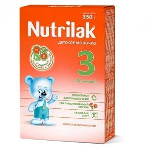 """""""Nutrilak 3"""" Mолочко детское  с 12 месяцев 350 г."""