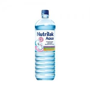 Nutrilak AQUA вода детская питьевая 1,5 л.