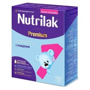 """""""Nutrilak Premium 1"""" с Рождения 350 г. БЕЗ Пальмового и Рапсового масла"""