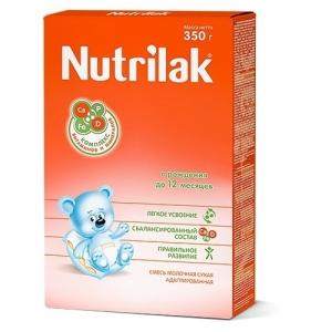 """""""Nutrilak 0-12"""" Молочная смесь с рождения 350 г."""