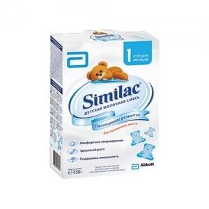 """""""Similac 1"""" 350 г.  молочная смесь с Рождения до 6 месяцев"""
