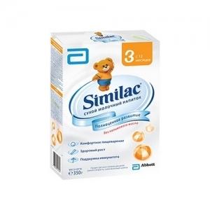 """Similac 3"" 350 г.  сухой молочный напиток с 12 месяцев"