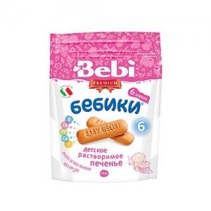 """""""Bebi PREMIUM""""  Печенье 125 г. 6 Злаков с 6 месяцев"""
