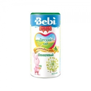 """""""Bebi PREMIUM"""" 200 г Фенхелевый детский чай с 4 месяцев"""