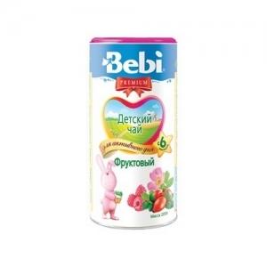 """""""Bebi PREMIUM"""" 200 г Фруктовый детский чай с 6 месяцев"""