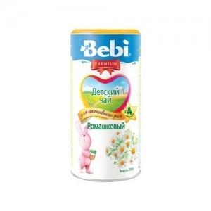 """""""Bebi PREMIUM"""" 200 г Ромашковый детский чай с 4 месяцев"""