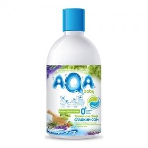 """Травяной сбор для купания малышей Сладкий сон """"AQA"""" baby 300 мл."""