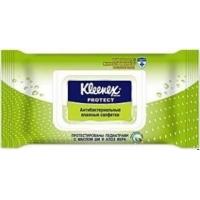 Kleenex  Салфетки влажные освежающие Антибактериальные 40 шт.