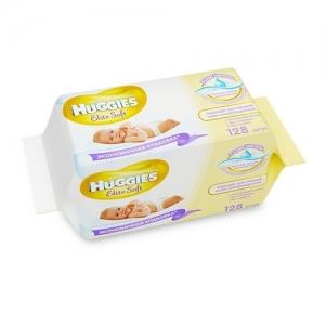 HUGGIES Elit Soft салфетки детские влажные   64х2 шт.