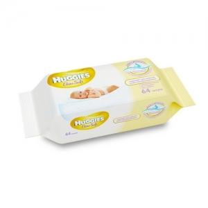 Салфетки детские влажные  HUGGIES Eit Soft сменный блок 64 шт.