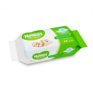 Салфетки детские влажные HUGGIES Ultra Comfort + Aloe 64 шт.