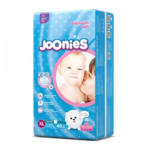 Подгузники-трусики Joonies XL 12-17кг 40шт