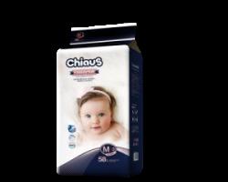 Трусики-подгузники CHIAUS Cottony Soft  М (6-11 кг) 58 шт.